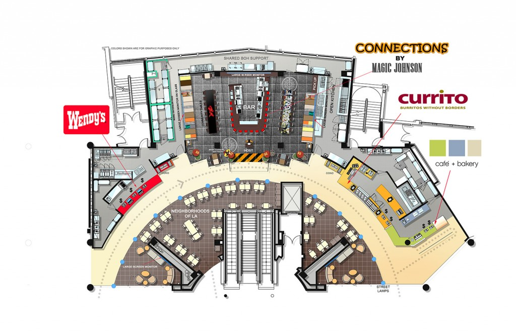 A 4B Foodcourt Plan